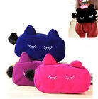 Women Cat Make-up Cases Cosmetics Bag Coin Purse Multi-function Handbags Walle