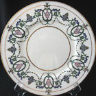 Vintage Minton H2581 Dinner Plate Pink Flowers Blue and Green Leaves Gold Trim