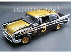 ACME A1807001 SMOKEY YUNICK'S STOCK CAR 1957 CHEVROLET BEL AIR 3 1/18 BLACK GOLD