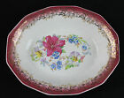 BOQUET pattern Oval serving bowl by Royal China Company from Sebring, Ohio