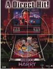 DIRTY HARRY By WILLIAMS 1995 ORIGINAL NOS PINBALL MACHINE PROMO SALES FLYER