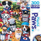 Playful Paws - On the Job - 300 Piece EZ Grip Jigsaw Puzzle