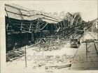 1923 Train Wreck Damage Manufacturing Plant Elizabeth New Jersey Press Photo