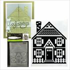 Darice embossing folders HOUSE AND FENCE folder 1219 417 Cuttlebug compatible