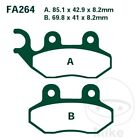 PGO PMX 50 00-07 EBC Scooter Sintered Front Brake Pads SFA264HH