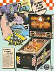 1990 WILLIAMS DINER PINBALL FLYER