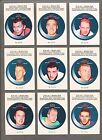 1968-69 OPC Puck Stickers Complete Set (22) Nice Shape!