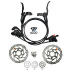 Shimano BR BL M315 MTB Hydraulic Disc Brakes Set Pre Filled with 160mm Rotor