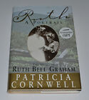 RUTH GRAHAM A PORTRAIT SIGNED HARDCOVER 1st 1st EDITION BOOK PAT CORNWELL
