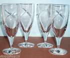 Waterford SIREN Iced Beverage Glass SET/4 Crystal Ireland 18oz #136775 New