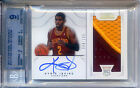 KYRIE IRVING 2012-13 NATIONAL TREASURES RC BLUE AUTO SICK PATCH BGS9 9 88 199