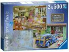 Ravensburger 14072 Day With Grandma and Grandpa 2 x 500 Piece Jigsaw Puzzles New