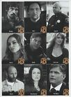 Sons of Anarchy Seasons 4 & 5 Character Bios Complete Chase Set C12 to C20