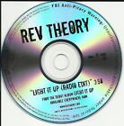 REV THEORY Light it up RARE EDIT TST PRESS PROMO DJ CD