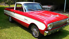 Ford Ranchero TWO TONE RED AND WHITE 1963 ford falcon ranchero must see lots of recent work