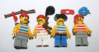 Lego 1980's Classic  Pirate Minifigure Minifig & Parts Lot #5 Minifigures
