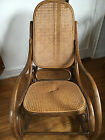 Thonet Authentic Bentwood Rocking Chair *seat damage*