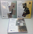 Creative Memories 8.5x11 Natural White Black Pages Scrapbook Refill Lot NEW