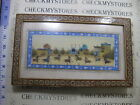 VINTAGE 8 FIGHTERS ON HORSE ART PRINT  CUSTOM HANDMADE FRAME RARE