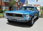 1968 Ford Mustang 289 V8 C Code Auto Power Steering Brittany Blue New Price