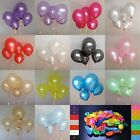 100 pcs 10 inch Colorful Pearl Latex Balloon Celebration Party Wedding Birthday