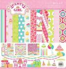 Photo Play Paper PARTY GIRL 12x12 Collection Kit Birthday Scrapbook Pocket Page