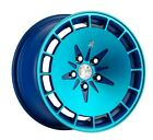 16X9 +18 Klutch KM16 4x100 Fusion Blue Wheel Fits Vw Scirocco Cabriolet Rabbit