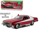 1976 FORD GRAN TORINO STARSKY AND HUTCH RED CHROME EDITION 1/18 GREENLIGHT 19023