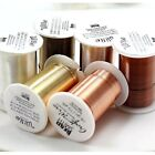 Beadsmith Nontarnish Resistant Craft Wire 5 Colors 7 Gauges Pick your sizecolor