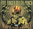 War Is the Answer [PA] [Digipak] by Five Finger Death Punch (CD, Sep-2009, 2...