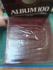 Imperial Bonded Leather Brown Album 100 Magnetic Pages Refillable