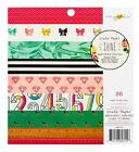 Crate Paper SHINE 6x6 Paper Pad Scrapbook Pocket Page 36pc Maggie Holmes