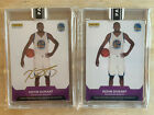 2016-17 PANINI INSTANT KEVIN DURANT AUTO & REGULAR 1 10 2 10 BOTH VERSIONS