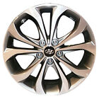 OEM Refurb 18 18X75 Alloy Wheel im for 2013 Hyundai Sonata Machined Charcoal