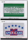 13-14 OPC New York Americans 1935-36 to 38-39 Team Logo Patches O-Pee-Chee 2013