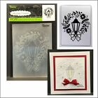 Darice embossing folders 1219 421 LAMP WREATH embossing folder Christmas