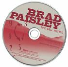 Brad Paisley Time Well Wasted 2005 CD Professionally Cleaned