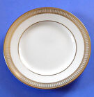 Waterford Carina Gold Set of 4 Bread/Butter/Tidbit Plates Made in England New