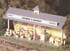 Bachmann Plasticville O Railroad Building ROADSIDE STAND Train Structure Kit