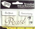DIY Express Yourself Self Adhesive Glitter On Your Anniversary Pearl