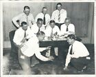 1931 Michigan Wolverines CHOF Legend Harry Kipke Coaches Conference Press Photo