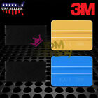 3M Blue Gold Squeegee Applicator Tools Felt Edge Decal Tips x2 Vinyl Wrap Kit