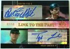 2004 SP Prospects CARLTON FISK TYLER LUMSDEN RC Link to the Past Dual Auto # 50