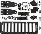 Hood Kit TJ Style Hood Catch Black Stainless for Jeep CJ Wrangler YJ 78 95 50570
