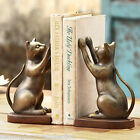 BOOKENDS CURIOUS CAT BOOKENDS CAT BOOK ENDS