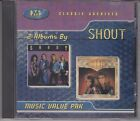 SHOUT In Your Face-It Wont Be Long 1998 Classic Archives 2 On 1 CD 80s Rock Rare
