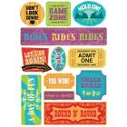 KAREN FOSTER DESIGN A DAY OF FUN AMUSEMENT PARK FAIR CARNIVAL SCRAPBOOK STICKERS