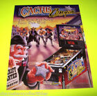 CACTUS CANYON By Bally 1999 ORIGINAL NOS Flipper Pinball Machine Sales FLYER