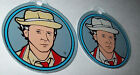 DOCTOR WHO By BALLY ORIG NOS PINBALL MACHINE PLASTIC PROMO KEYCHAIN DR. #7 SET