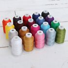 MACHINE EMBROIDERY THREAD SETS POLYESTER 20 COLORS 10 SETS 1000M SPOOLS